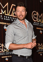 10 June 2016 - Nashville, Tennessee - Brett Eldredge. 2016 CMA Music Festival Nightly Press Conference held at Nissan Stadium. Photo Credit: AdMedia