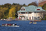 Boston, DeWolfe Boathouse, Boston University; Rowers, Sunday, October 22, 2006, Head of the Charles Regatta