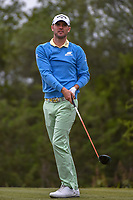 Wesley Bryan (USA) watches his tee shot on 15 during Round 2 of the Valero Texas Open, AT&T Oaks Course, TPC San Antonio, San Antonio, Texas, USA. 4/20/2018.<br /> Picture: Golffile | Ken Murray<br /> <br /> <br /> All photo usage must carry mandatory copyright credit (© Golffile | Ken Murray)