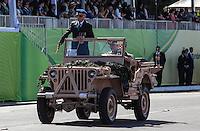 ATENCAO EDITOR: FOTO EMBARGADA PARA VEICULOS INTERNACIONAIS - BRASILIA, DF, 07 SETEMBRO 2012 - DESFILE 7 SETEMBRO - Desfile Civico-Militar em comemoraca ao Dia 7 de Setembro na cidade de Brasilia na manha dessa sexta-feira. FOTO: VANESSA CARVALHO - BRAZIL PHOTO PRESS.