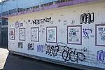 22.03.2020, Stadion an der Bremer Brücke, Osnabrück, Rund um das Stadion an der Bremer Brücke<br /> <br /> <br /> im Bild<br /> Kassenhäuschen vor der Nordtribüne. Feature / Symbol / Symbolfoto / charakteristisch / Detail<br /> <br /> Foto © nordphoto / Paetzel
