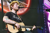 PHILADELPHIA, PA - JULY 11:  Ed Sheeran headlining at the Wells Fargo Center in Philadelphia, Pa on July 11, 2017   photo credit  Star Shooter/MediaPunch