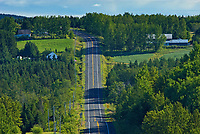 STeep hills on highway <br />