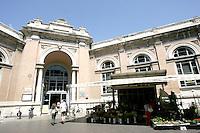 L'entrata del Mercato Coperto di Ravenna.<br /> Exterior view of the Mercato Coperto in Ravenna.<br /> UPDATE IMAGES PRESS/Riccardo De Luca