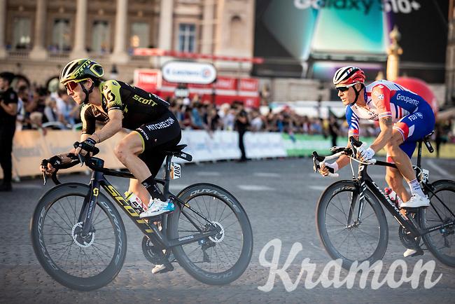 Simon Yates (GBR/Mitchelton-Scott) on the Champs-Elysées<br /> <br /> Stage 21: Rambouillet to Paris (128km)<br /> 106th Tour de France 2019 (2.UWT)<br /> <br /> ©kramon
