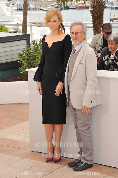 Steven Spielberg & Nicole Kidman at the photocall for the Jury of the 66th Festival de Cannes..May 15, 2013  Cannes, France.Picture: Paul Smith / Featureflash