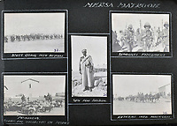 BNPS.co.uk (01202 558833)<br /> Pic: C&T/BNPS<br /> <br /> The little known Senussi campaign of January 1916.<br /> <br /> Never before seen photos of the disastrous Gallipoli campaign have come to light over a century later.<br /> <br /> The fascinating snaps were taken by Sub Lieutenant Gilbert Speight who served in the Royal Naval Air Service in World War One.<br /> <br /> They feature in his photo album which covers his eventful war, including a later stint in Egypt.<br /> <br /> There are dramatic photos of the Allies landing at X Beach, as well as sobering images of a mass funeral following the death of 17 Brits. Another harrowing image shows bodies lined up in a mass grave.<br /> <br /> The album, which also shows troops during rare moments of relaxation away from the heat of battle, has emerged for sale with C & T Auctions, of Ashford, Kent. It is expected to fetch £1,500.