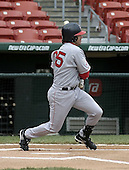 May 3, 2004:  Trace Coquillette of the Pawtucket Red Sox, Triple-A International League affiliate of the Boston Red Sox, during a game at Dunn Tire Park in Buffalo, NY.  Photo by:  Mike Janes/Four Seam Images