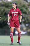 14 August 2014: South Carolina's Taylor Leach. The Duke University Blue Devils hosted the University of South Carolina Gamecocks at Koskinen Stadium in Durham, NC in a 2014 NCAA Division I Women's Soccer preseason match. Duke won the exhibition 2-0.