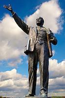Lenin Statue - Memento Sculpture Park ( Szobaopark ) Budapest, Hungary