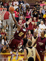 TALLAHASSEE, FLA. 10/15/10-FSUMBB 101510 CH-Derwin Kitchen makes a lay up during the Jam with Ham basketball season kickoff Friday at Tully Gym in Tallahassee...COLIN HACKLEY PHOTO