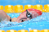 PICTURE BY ALEX BROADWAY /SWPIX.COM - 2012 London Paralympic Games - Day Three - Swimming - Aquatic Centre, Olympic Park, London, England - 01/09/12 - Eleanor Simmonds of Great Britain competes in the Women's 400m Freestyle S6 Heats.