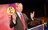 UKIP Leadership Announcement <br /> at the Emmanuel Centre, Westminster, London, Great Britain <br /> 28th November 2016 <br /> <br /> Nigel Farage MEP<br /> former UKIP Leader <br /> <br /> <br /> <br /> Photograph by Elliott Franks <br /> Image licensed to Elliott Franks Photography Services