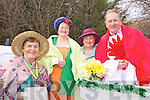 SACRED HEART: George Kelly (right) from Listry was the Sacred Heart at the Milltown Parade on Wednesday along with l-r: Anne O'Shea, Bridie Murphy, Breda O'Shea..