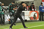 30.11.2019, Rheinenergiestadion, Köln, GER, DFL, 1. BL, 1. FC Koeln vs FC Augsburg, DFL regulations prohibit any use of photographs as image sequences and/or quasi-video<br /> <br /> im Bild Martin Schmidt (FC Augsburg) unzufrieden / enttaeuscht / niedergeschlagen / frustriert, <br /> <br /> Foto © nordphoto/Mauelshagen