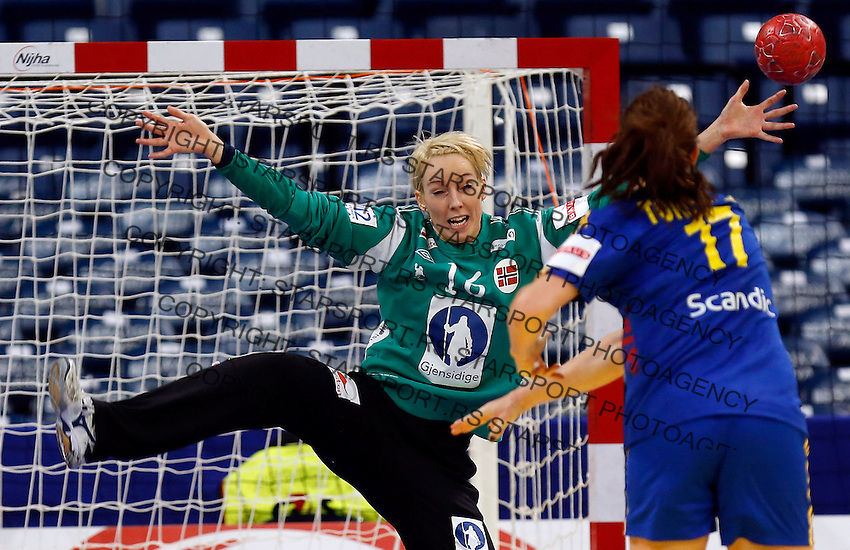 2012 Ehf European Women S Handball Championship Main Group I Norway V Sweden Starsport Photo Service