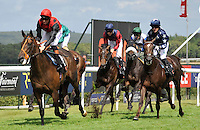 03.08.2013 Goodwood, England.  Winner 2 Pether's Moon (IRL) ridden by Richard Hughes trained by Richard Hannon during day five of the  Glorious Goodwood Festival. 2.40 The RAC Stakes (Handicap) 1M 4F
