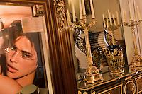 Europe/France/Aquitaine/64/Pyrénées-Atlantiques/Pays-Basque/Biarritz:   Hall de l' Hôtel du Palais  ou  Villa Eugénie [Non destiné à un usage publicitaire - Not intended for an advertising use]