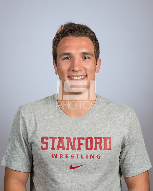 Stanford, Ca - October 11, 2016: The 2016-2017 Stanford Wrestling Team.