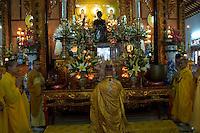 Thien Minh monastery.<br /> Thich Khe Chon, abbott.