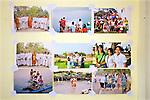 Photos at Cambodian Landmine Museum