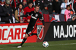 09 April 2016: DC United's Taylor Kemp. DC United hosted the Vancouver Whitecaps FC at RFK Stadium in Washington, DC in a 2016 Major League Soccer regular season game. DC United won the match 4-0.