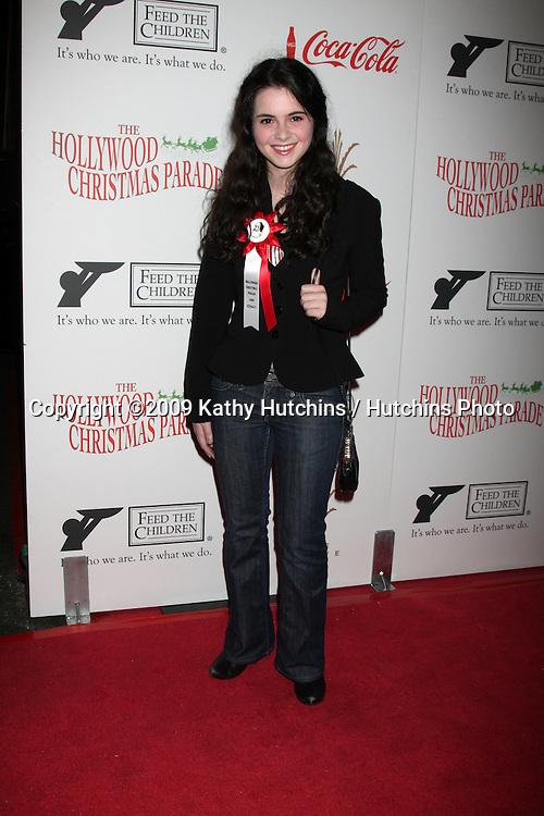 Vanessa Marano.arriving at the 2009 Hollywood Christmas Parade .Hollywood Roosevelt Hotel.Los Angeles,  CA.November 29, 2009.©2009 Kathy Hutchins / Hutchins Photo.