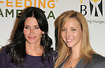 Courteney Cox & Lisa Kudrow at The Rock a Little ,Feed a lot benefit concert to support the L.A. Regional Food Bank & Feeding America held at Club Nokia in Los Angeles, California on September 29,2009                                                                   Copyright 2009 DVS / RockinExposures