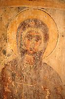 Fresco of of Ayii Theodori, Paliachora,   Aegina, Greek Saronic Islands