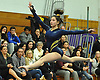 Jennifer Mullan of Massapequa performs her floor routine during a Nassau County varsity gymnastics meet against Plainview JFK at McKenna Elementary School on Monday, Feb. 1, 2016.