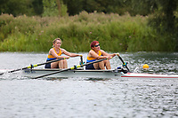 Race: 153  W.MasD/E.2x  Final<br /> <br /> Peterborough Summer Regatta 2018 - Sunday<br /> <br /> To purchase this photo, or to see pricing information for Prints and Downloads, click the blue 'Add to Cart' button at the top-right of the page.