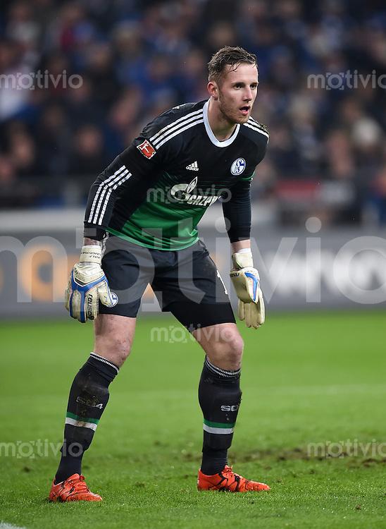 Fussball  1. Bundesliga  Saison 2015/2016  13. Spieltag in Gelsenkirchen FC Schalke 04 - FC Bayern Muenchen     21.11.2015 Torwart Ralf Faehrmann (FC Schalke 04)