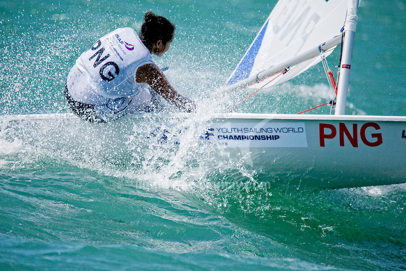 Papua New Guinea	Laser Radial	Women	Helm	PNGRN2	Rose-Lee	Numa<br /> Day1, 2015 Youth Sailing World Championships,<br /> Langkawi, Malaysia