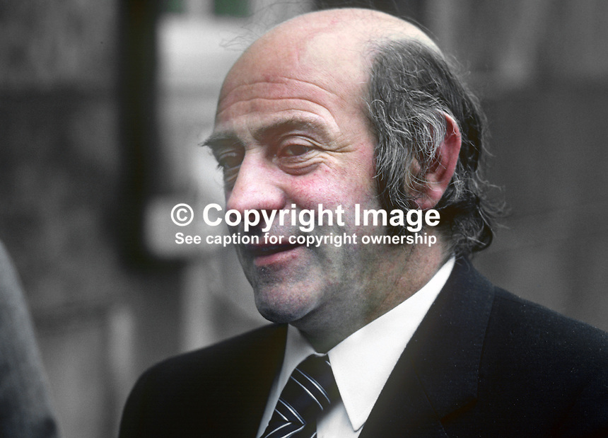 Joe Sherlock, TD, Sinn Fein The Workers' Party, Rep of Ireland, 19820300042JS<br />