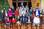 The athletes from the Kerry Stars enjoying their Christmas party in the Cahernane House Hotel on Sunday