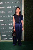 LOS ANGELES - FEB 20:  Hong Chau at the CFDA Variety and WWD Runway to Red Carpet at Chateau Marmont Hotel on February 20, 2018 in West Hollywood, CA