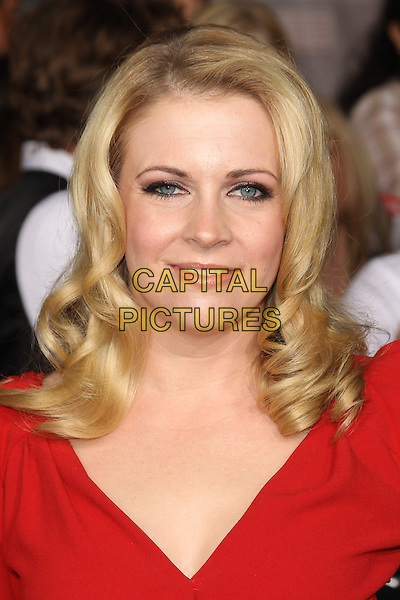 MELISSA JOAN HART.The Los Angeles premiere of 'The Twilight Saga Breaking Dawn Part 1' at Nokia Theatre at L.A. Live in Los Angeles, California, USA..November 14th, 2011.headshot portrait red.CAP/CEL .©CelPh/Capital Pictures