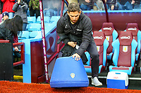 Leeds United staff put Marcelo Bielsa's bucket seat in position<br /> <br /> Photographer Alex Dodd/CameraSport<br /> <br /> The EFL Sky Bet Championship - Aston Villa v Leeds United - Sunday 23rd December 2018 - Villa Park - Birmingham<br /> <br /> World Copyright &copy; 2018 CameraSport. All rights reserved. 43 Linden Ave. Countesthorpe. Leicester. England. LE8 5PG - Tel: +44 (0) 116 277 4147 - admin@camerasport.com - www.camerasport.com