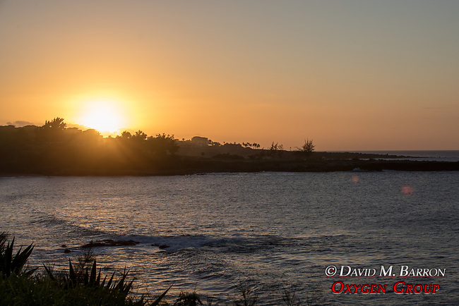 Sunset Over Makaluapuna Point