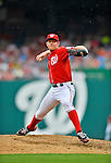 2 September 2012: Washington Nationals' pitcher Stephen Strasburg on the mound against the St. Louis Cardinals at Nationals Park in Washington, DC. The Nationals edged out the visiting Cardinals 4-3, capping their 4-game series with three wins. Mandatory Credit: Ed Wolfstein Photo