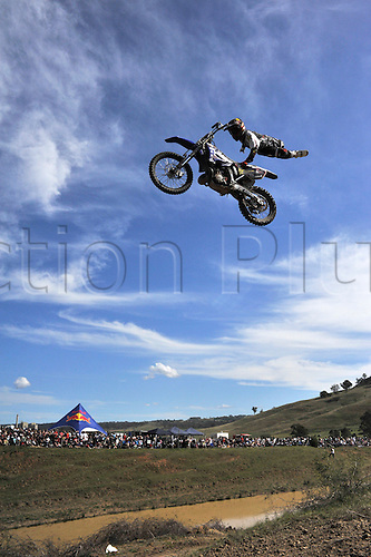 12.09.2010 Red Bull Xray returns to the Razorback Ranch in New South Wales, Australia. Lewis Woods in action.