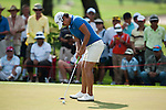 CHON BURI, THAILAND - FEBRUARY 19:  Yani Tseng of Taiwan putts on the 14th green during day three of the LPGA Thailand at Siam Country Club on February 19, 2011 in Chon Buri, Thailand. Photo by Victor Fraile / The Power of Sport Images
