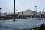 The former Lowes store in Quonset Industrial Park in North Kingstown seen here on Friday, April 3, 2020, was named as site to be used for hospital overflow during the Covid-19 pandemic.