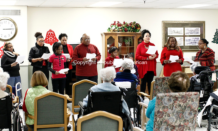 Waterbury CT 20 December 2014 122014CM01 Members From The Community Tabernacle Outreach
