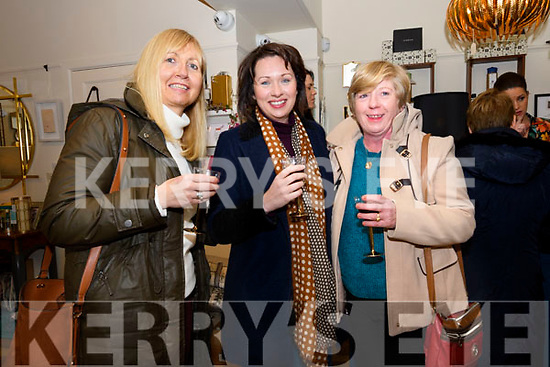 Mary Murphy, Elaine Kennedy and Dolores Begley enjoying the Coach House Dingle's twinkle Thursday Christmas celebrations.