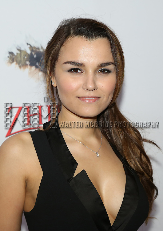 Samantha Barks attends the Broadway Opening Night Performance of  'Doctor Zhivago'  at  The Broadway Theatre on April 21, 2015 in New York City.