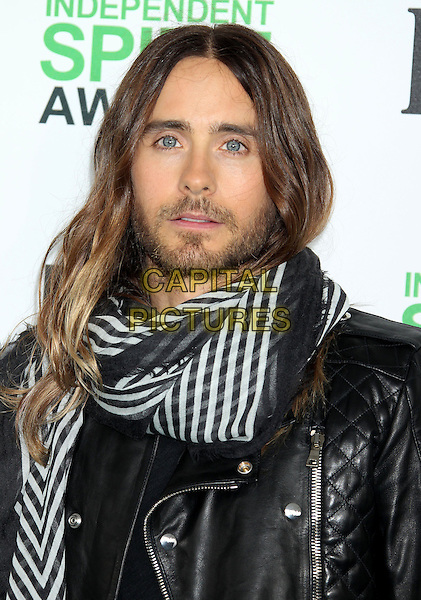 1 March 2014 - Santa Monica, California - Jared Leto. 2014 Film Independent Spirit Awards held at Santa Monica Beach. <br /> CAP/ADM/RE<br /> &copy;Russ Elliot/AdMedia/Capital Pictures