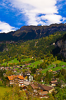 Lauterbrunnen, Lauterbrunnen Valley, Canton Bern, Switzerland