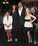 Eliza Dushku poses with Rick Fox & family at Walt Disney Pictures Premiere of Pirates of the Caribbean : On Stranger Tides held at Disneyland in Anaheim, California on May 07,2011                                                                               © 2010 Hollywood Press Agency