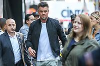 NEW YORK, EUA, 22.06.2017 - JOSH-DOHAMEL - O ator Josh Duhamel é visto chegando a um programa de televisão em New York na manhã desta quinta-feira, 22. (Foto: Vanessa Carvalho/Brazil Photo Press)